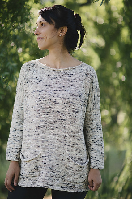 Joji's newest pattern is her Pebble Tunic is 20% off all weekend!