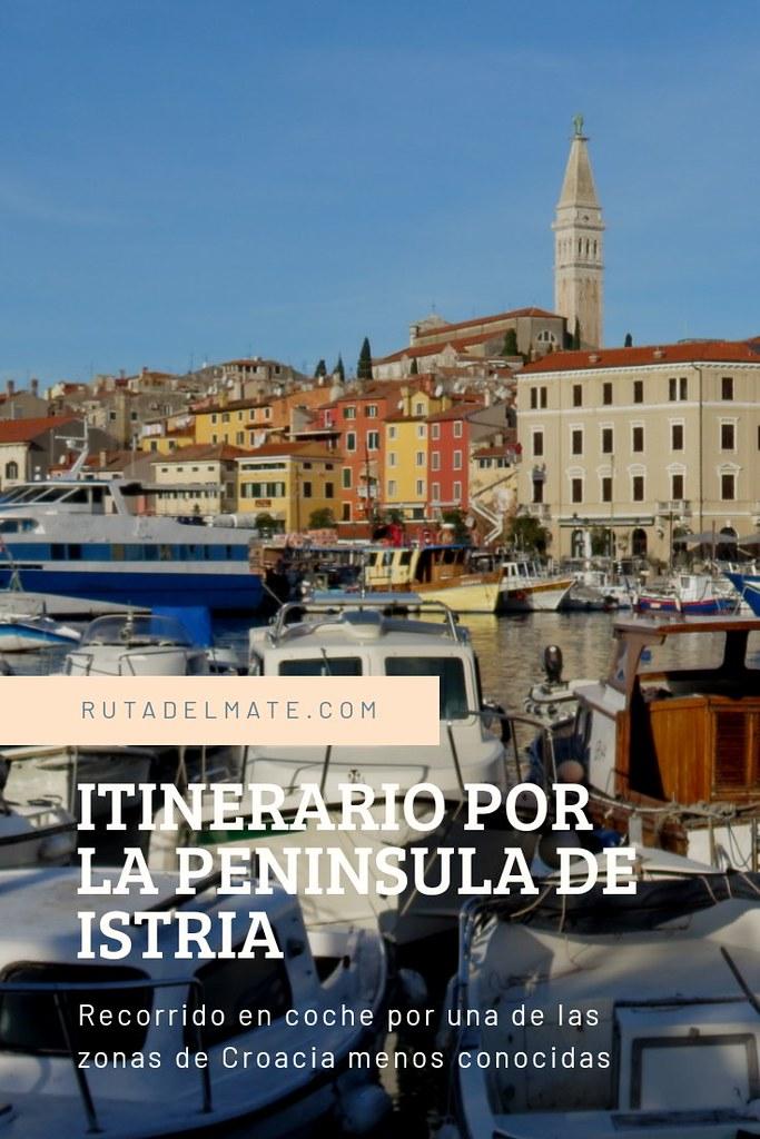 Itinerario por la Península de Istria en Croacia