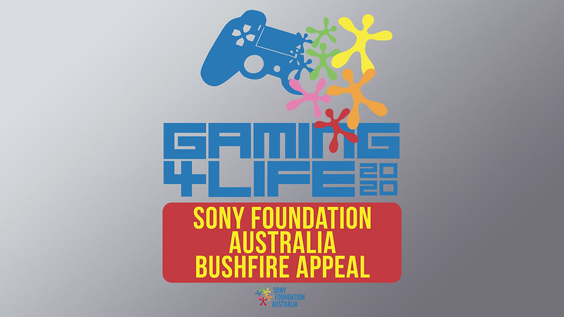 Sony Foundation Australia on PS4
