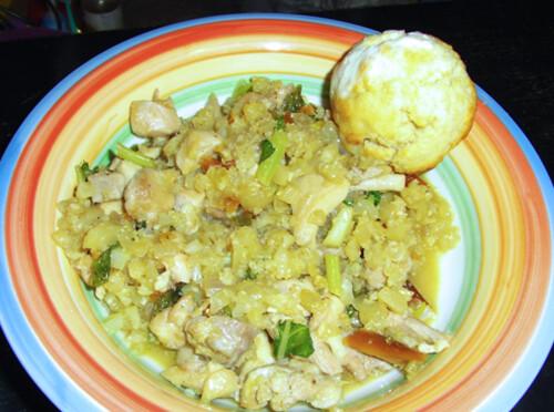Photo: Chicken with Cauliflower Rice