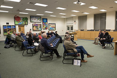 State Reps. John Fusco and Gale Mastrofrancesco, and State Sen. Rob Sampson hold a Southington Town Hall.