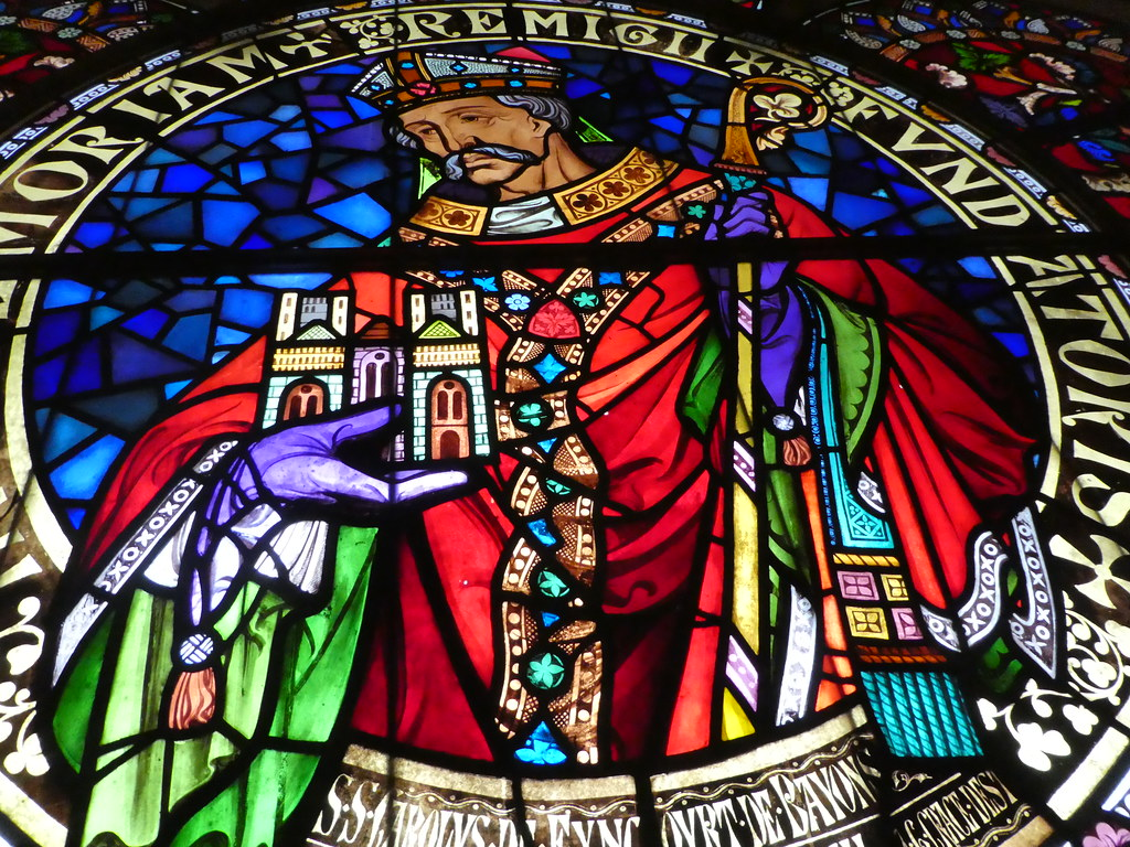 Stained glass windows, Lincoln Cathedral