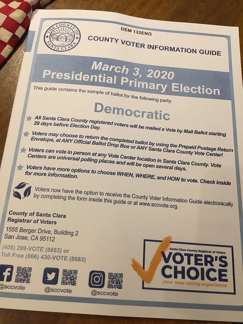 County Voter Information Guide - Democratic Party