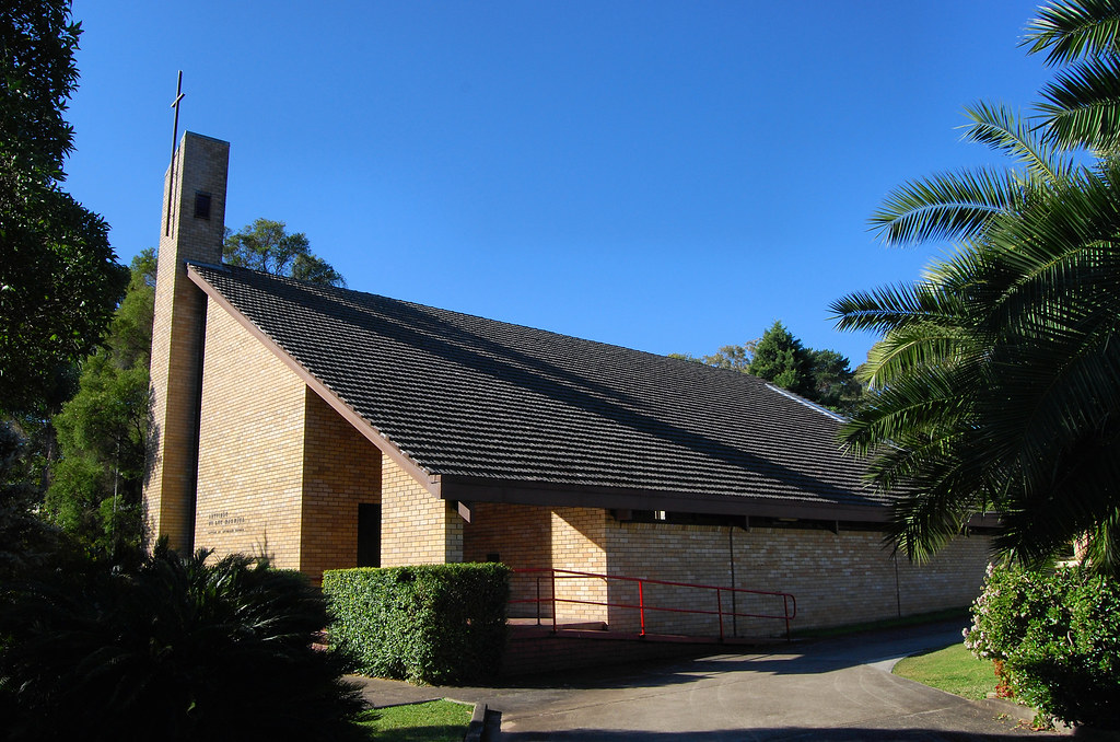 Lutherin Church, Homebush, Sydney, NSW.