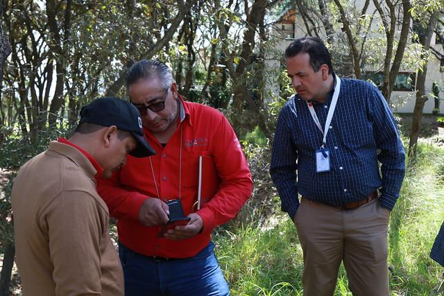 Recorrido de Fiscalía Ambiental de Tlajomulco y la CONAGUA