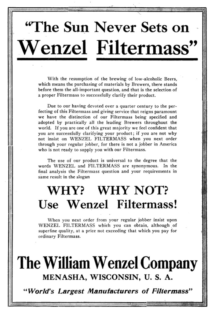 wenzel-filtermass
