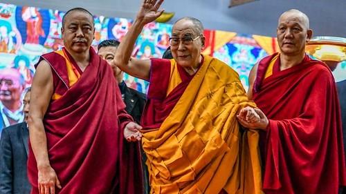 INDIA-RELIGION-BUDDHISM-DALAI LAMA