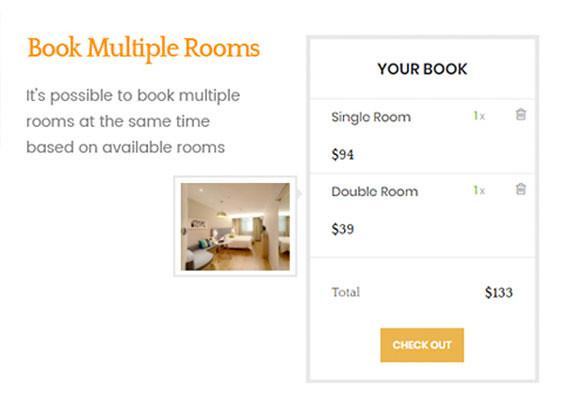 Ap Booking PrestaShop Module - Checkout Multiple Room At Once