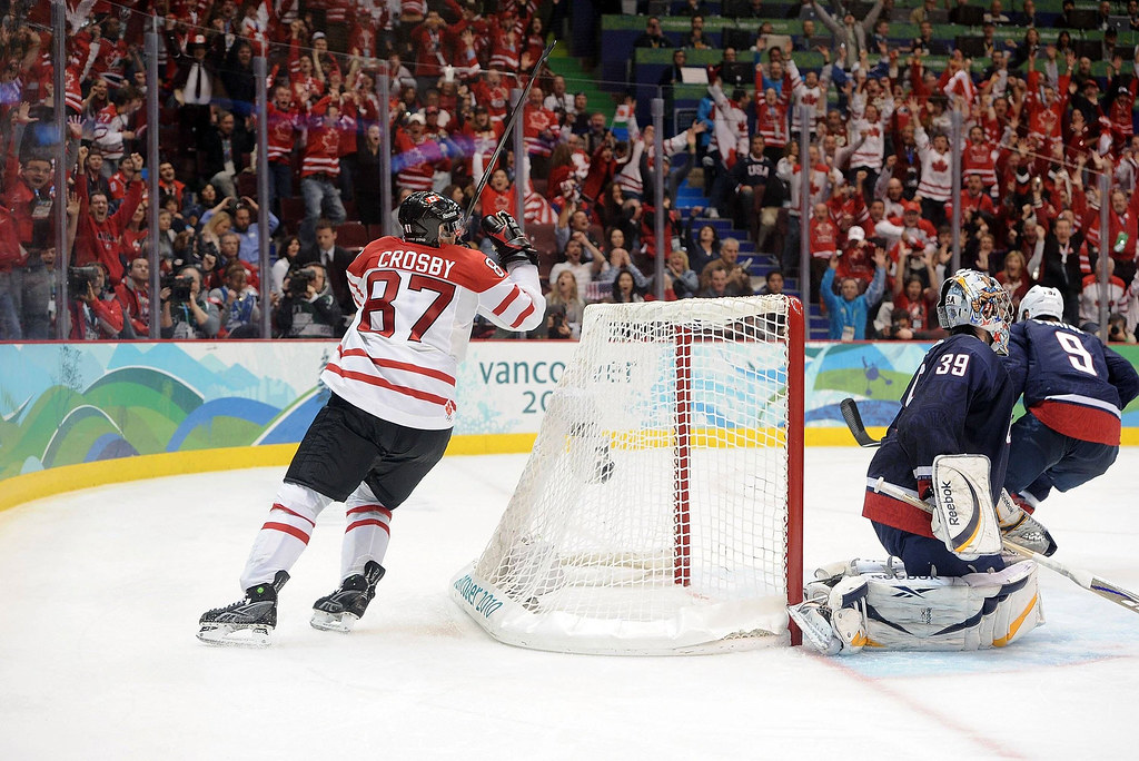 Crosby's Golden Goal grabs GOLD!
