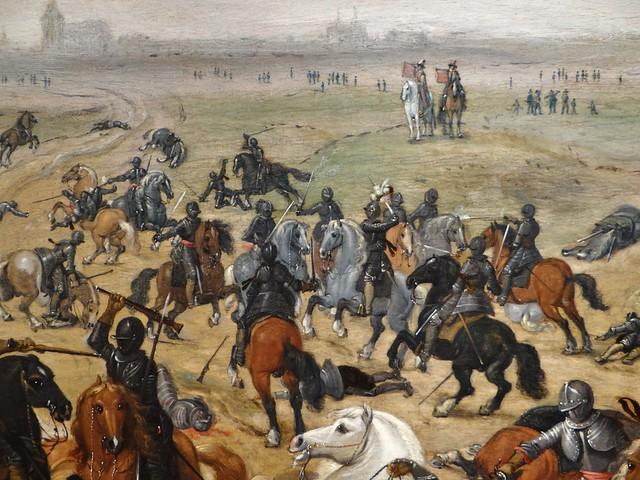 ca. 1600-1647 - 'Battle of Lekkerbeetje' (Sebastiaan Vrancx), Antwerp, Jan Muller Art & Antiques (Ghent), BRAFA, Brussels, Belgium