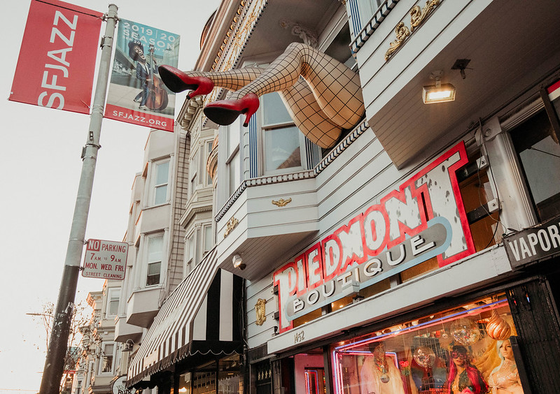 Haight-Ashbury shops San Francisco