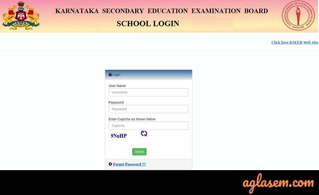 Karnataka SSLC Hall Ticket 2020