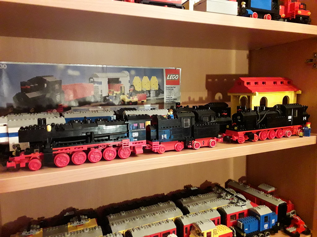 Lego DB BR50 622 and BR78 047 12v