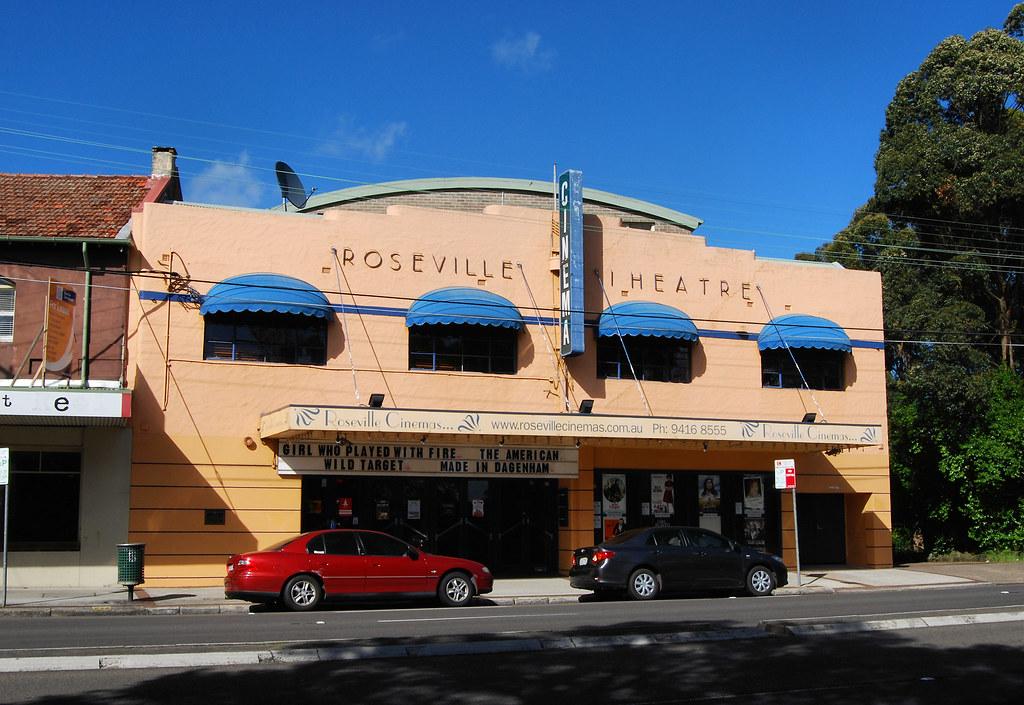 Roseville Theatre, Roseville, Sydney, NSW.