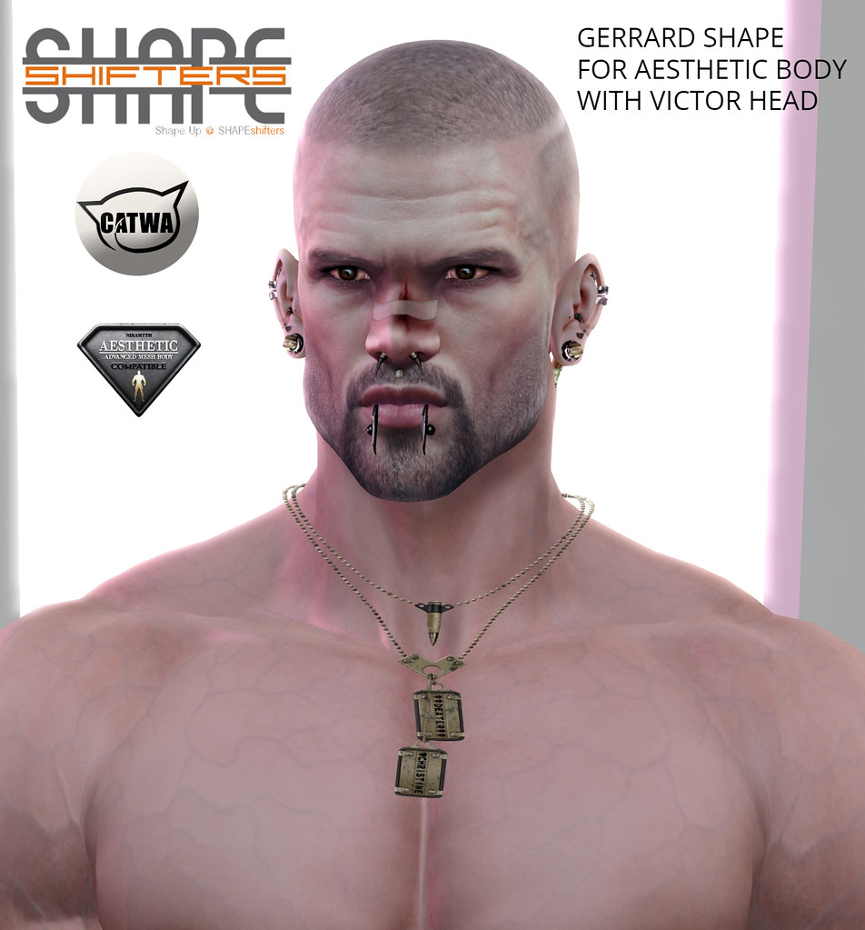 [SHAPEshifters] GERRARD SHAPE FOR AESTHETIC BODY & VICTOR HEAD (1)