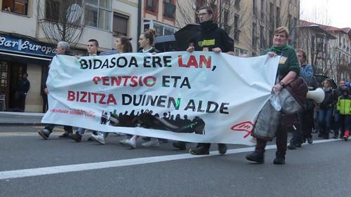 Manifestación Huelga 30 enero 2020