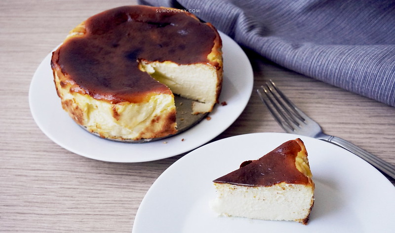 Basque Burnt Cheesecake Recipe