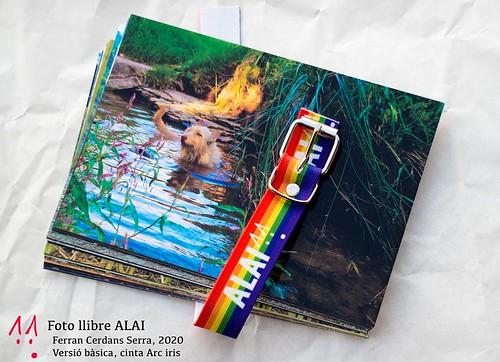 Fotollibre ALAI, cinta Arc iris deslligada amb les postals