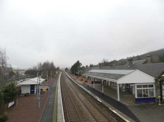 Kingussie Railway Station, Kingussie, Jan 2020