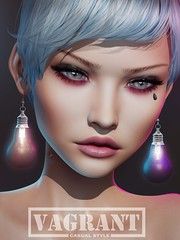 -[ vagrant ]- Light Bulb Earrings @ Shiny Shabby