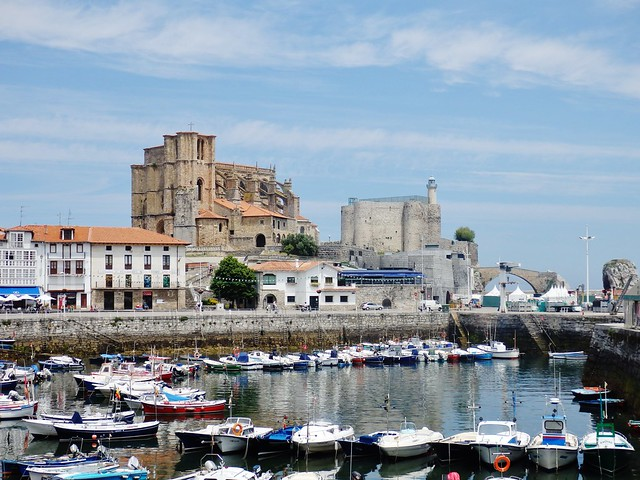 Castro Urdiales - Puerto - Cantabria.