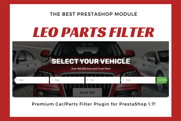 Edmart - Premium Auto Parts Prestashop Theme - leo parts filter module