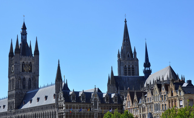 Ypres town view