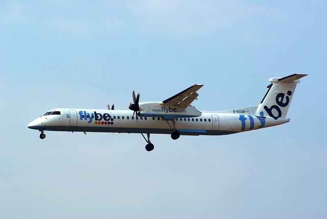 DHC8 G-ECOP Fly Be