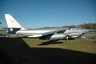 Boeing WB-47E Stratojet at the Museum of Flight, Seattle