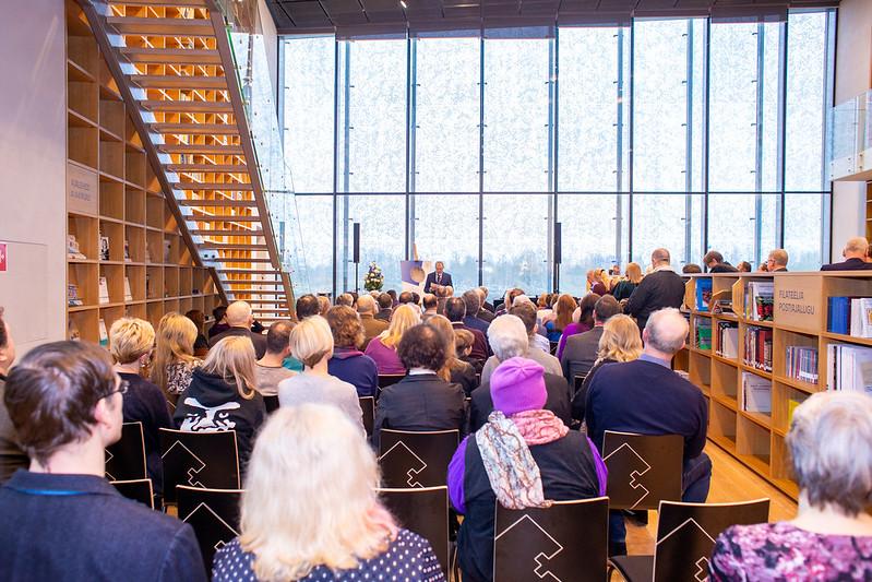 Tartu rahu 100. aastapäevale pühendatud mälestusmündi esitlus