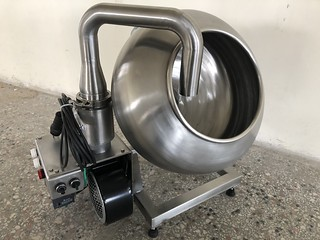 laboratory type coating pan