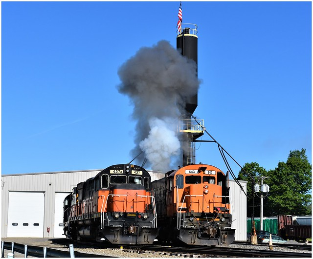 Start of a new day with WNYP Railroad (extra photos from 6-3-19)