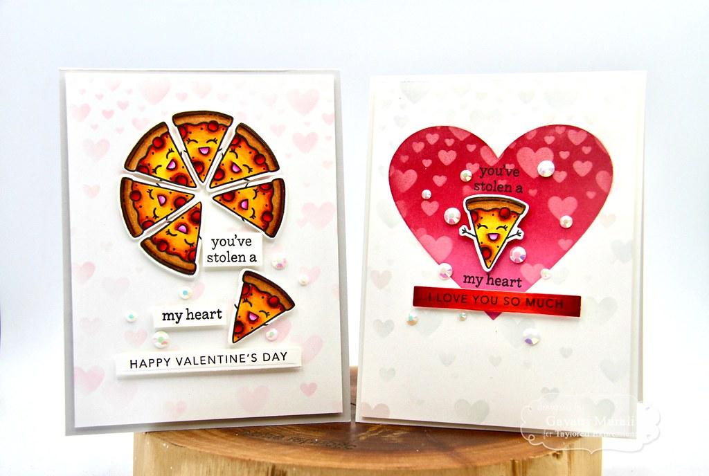 You've stolen a pizza my heart card set1