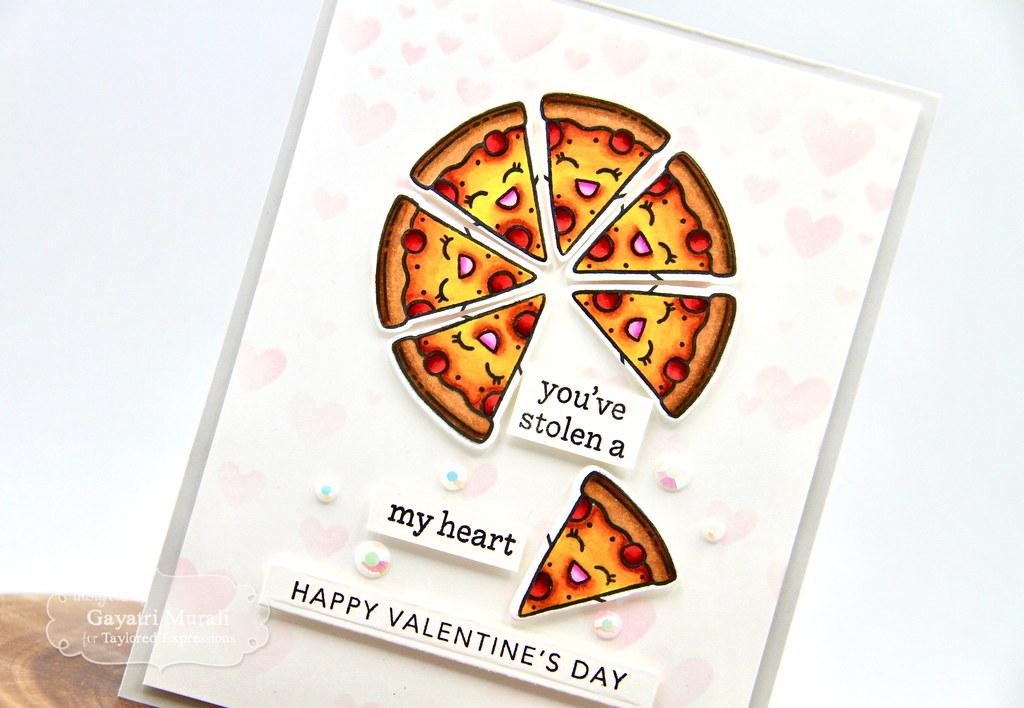 You've stolen a pizza my heart card #1 closeup1
