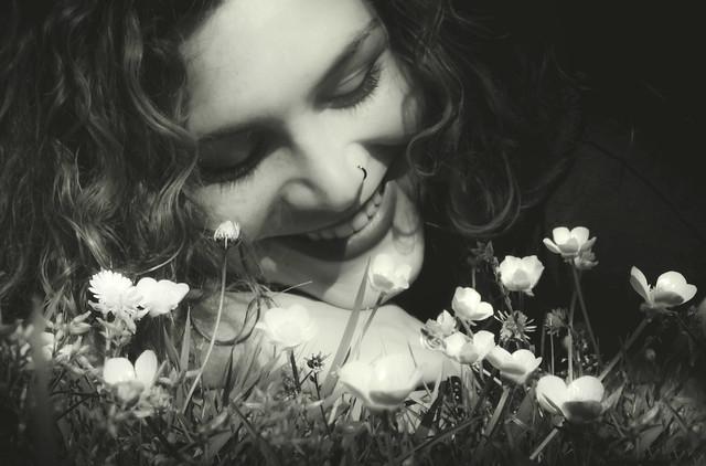 La sonrisa floral