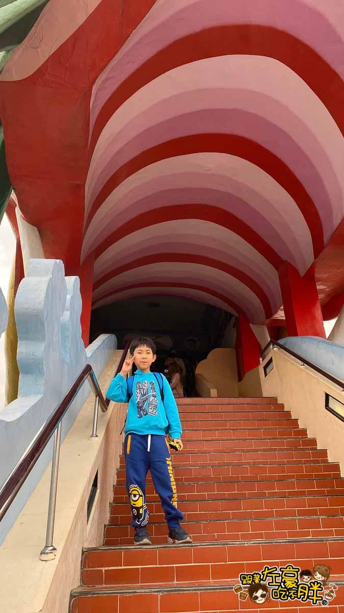 台南旅遊 台南代天府十八層地獄溜滑梯沙坑-54