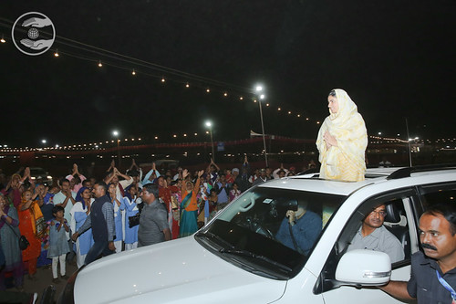 HH's arrival at Samagam ground Nasik
