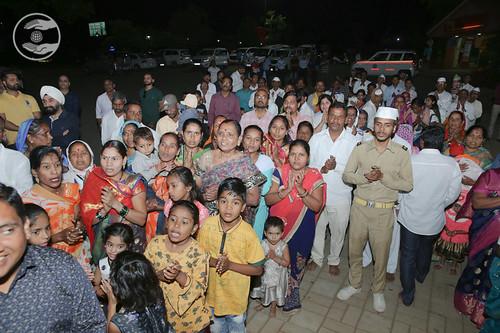 Devotees seeking blessings at Nasik