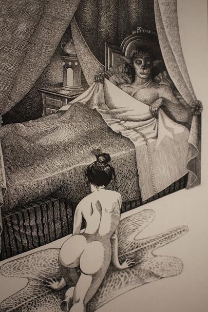 Morceaux choisis de la Belle et la Bête - Nicole Claveloux - FIBD 2020