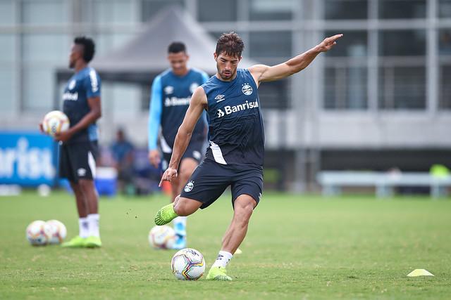 Treino Grêmio 01/02/2020
