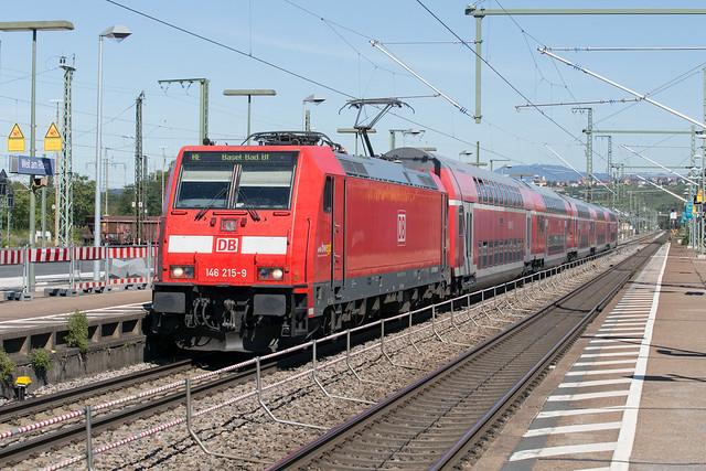 DB Regio 146 215 Weil am Rhein