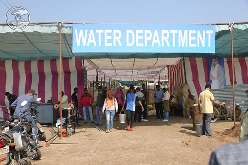 Different Stalls at the Samagam Ground