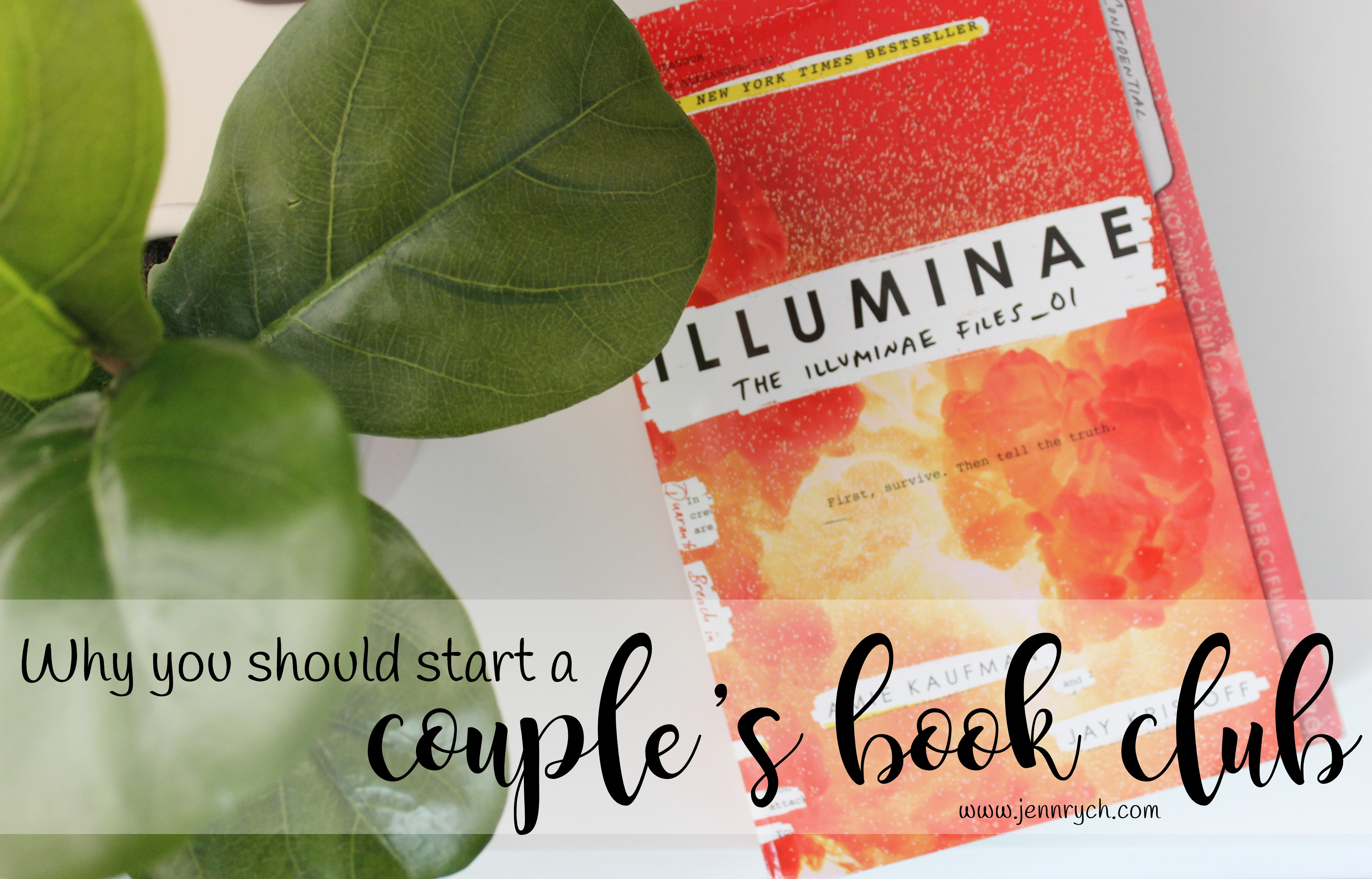 Start a two person book club with your partner! | Reading & Writing Rych: www.jennrych.com