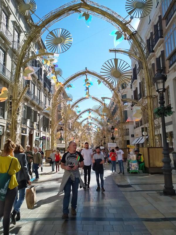 La famosa calle Larios