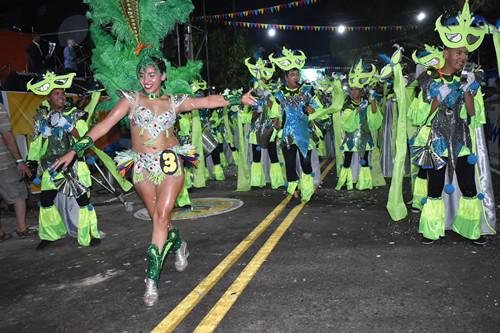 1ºnoche Carnaval de Ullum