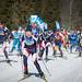 Trénink pražských běžkařů aneb pražskej lyžař, čeleď pracovitá