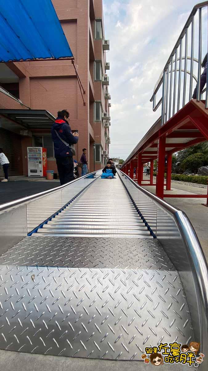 台南旅遊 台南代天府十八層地獄溜滑梯沙坑-65