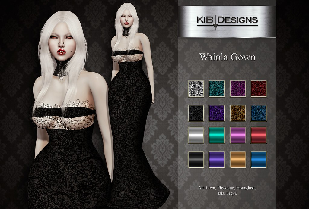 KiB Designs – Waiola Gown @Darkness Event