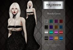 KiB Designs - Waiola Gown @Darkness Event