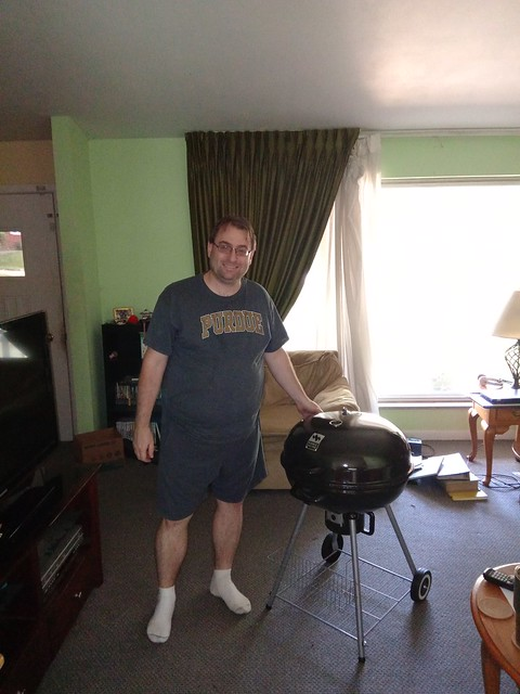 A Man and His (New) Grill